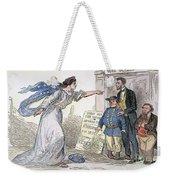 Civil War Cartoon Weekender Tote Bag