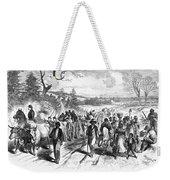 Civil War: Freedmen, 1863 Weekender Tote Bag by Granger