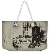 Civil War Hospital Weekender Tote Bag by Bill Cannon