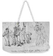 Civil War: Punishment Weekender Tote Bag