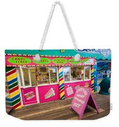 Clacton Pier Shop Weekender Tote Bag