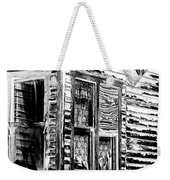 Clapboards And Lace Weekender Tote Bag