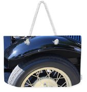 Classic Antique Car- Roaring Twenties - Detail Weekender Tote Bag