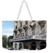 Classic Auto And Old Movie Theatre Weekender Tote Bag