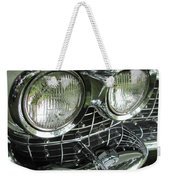 Classic Car - White Grill 1 Weekender Tote Bag