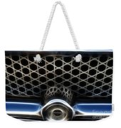 Classic Chrome Car Grill Weekender Tote Bag