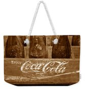 Classic Coke Work B Weekender Tote Bag