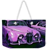 Classic In Pink Weekender Tote Bag