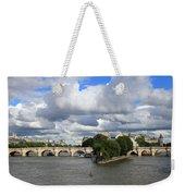 Classic Paris Weekender Tote Bag