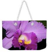 Classic Purple Orchid Weekender Tote Bag