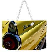 Classic T-bird Tailfin Weekender Tote Bag