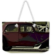 Classical French Weekender Tote Bag
