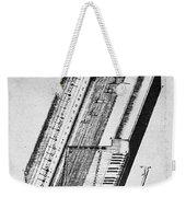 Clavichord, 1636 Weekender Tote Bag