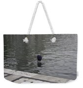 Cleaning The Sarovar In The Golden Temple Weekender Tote Bag