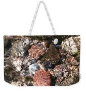 Clear And Pure Weekender Tote Bag