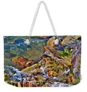 Clear Contact Weekender Tote Bag