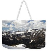 Clear Day On Rendezvous Mountain Weekender Tote Bag