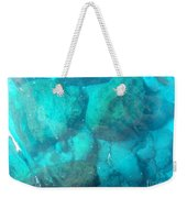 Clear Water 3 Ionian Sea Series Weekender Tote Bag