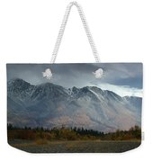 Clearing Storm Over North Canol Road Weekender Tote Bag