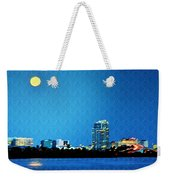 Clearwater At Night Weekender Tote Bag