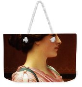 Cleonice Weekender Tote Bag by John William Godward