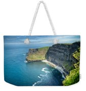 Cliff Of Moher 32 Weekender Tote Bag