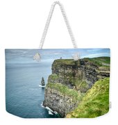 Cliff Of Moher 35 Weekender Tote Bag