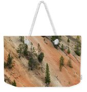 Cliff Side Grand Canyon Colors Vertical Weekender Tote Bag