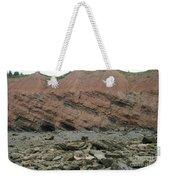 Cliffs At Joggins Nova Scotia Weekender Tote Bag