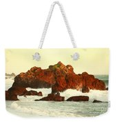 Cliffs In The Warm Evening Light Weekender Tote Bag