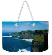 Cliffs Of Moher, Co Clare, Ireland Weekender Tote Bag