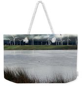 Climate Changed Storm Weekender Tote Bag