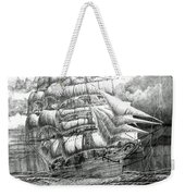 Clipper In The Storm Filtered Weekender Tote Bag