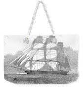 Clipper Ship, 1850 Weekender Tote Bag
