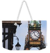 Clock In Chester Weekender Tote Bag