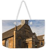 Clock Tower Weekender Tote Bag
