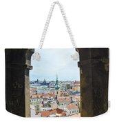 Clock Tower View - Prague Weekender Tote Bag