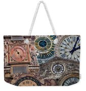 Clocks Of Paris Weekender Tote Bag