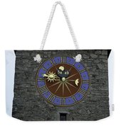Clocktower In Lucerne On A Stone Tower Weekender Tote Bag