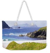 Clogher Beach, Blasket Islands, Dingle Weekender Tote Bag