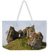 Clonmacnoise Castle Ruin - Ireland Weekender Tote Bag