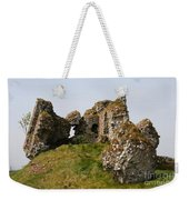 Clonmacnoise Castle Ruin - Ireland Weekender Tote Bag