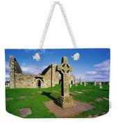 Clonmacnoise, Co Offaly, Ireland High Weekender Tote Bag