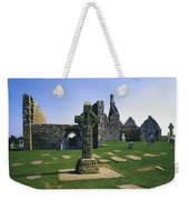 Clonmacnoise, Co Offaly, Ireland, West Weekender Tote Bag