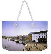 Cloondara, Co Longford, Ireland Town At Weekender Tote Bag