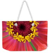 Close Up Dahlia Weekender Tote Bag
