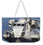 Close-up Of A Ch-53 Sea Stallion Weekender Tote Bag