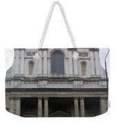 Close Up Of A Classical Architecture Of A Building In London Weekender Tote Bag
