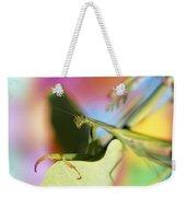 Close-up Of Praying Mantis Weekender Tote Bag