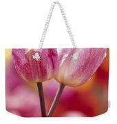 Close-up Of Tulips Weekender Tote Bag